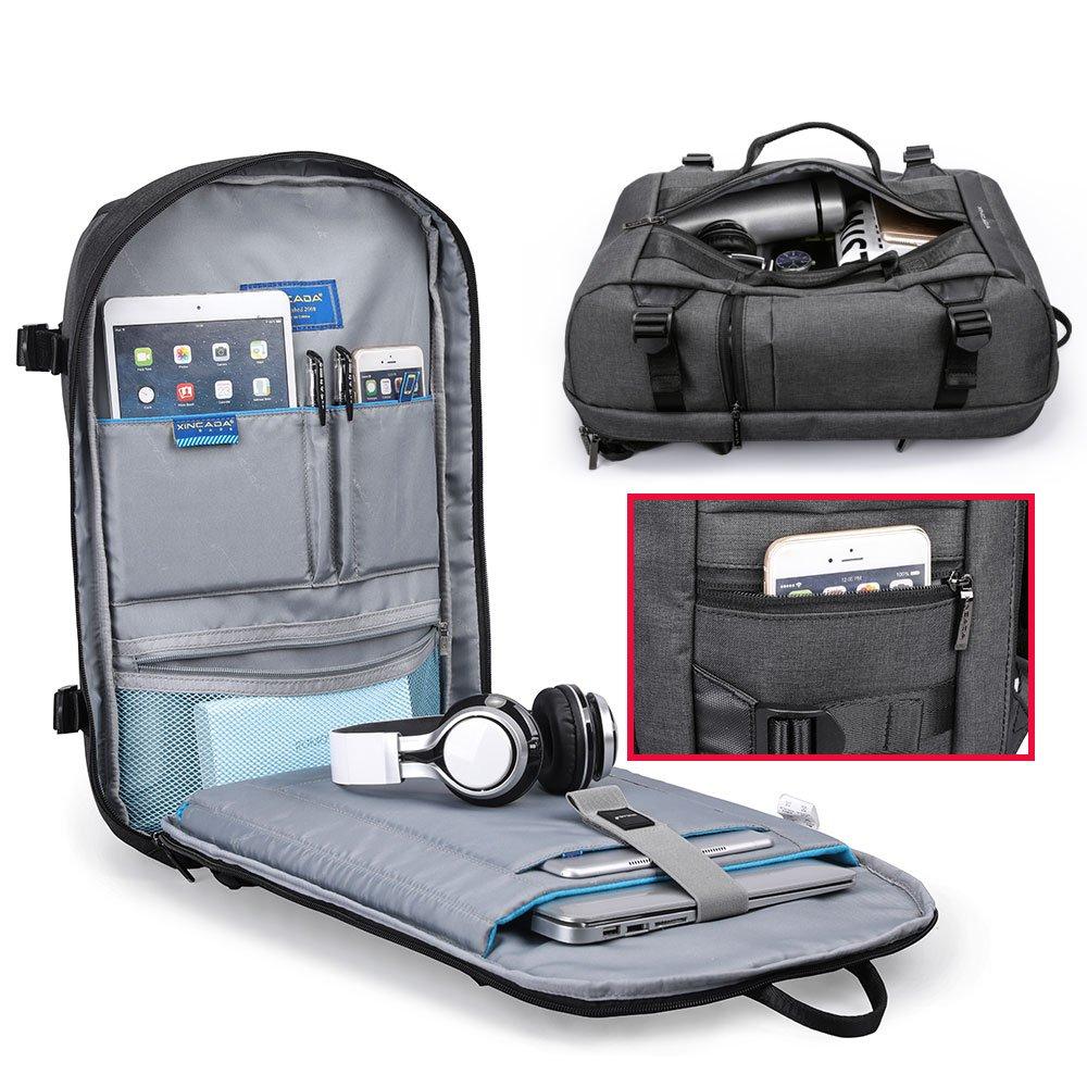 adb1471f26 Amazon.com  XINCADA Men Travel Backpack Carry on Backpack Weekend Backpack  Duffle Bags Casual Daypacks  Sports   Outdoors
