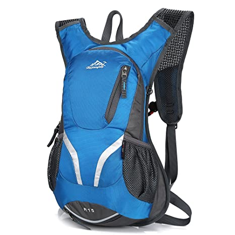0d1c11ef9 Amazon.com : Lixada 15L Cycling Bike Backpack Ultralight Outdoor Sports  Travel Daypack for Men Women Riding Running Hiking Camping : Sports &  Outdoors