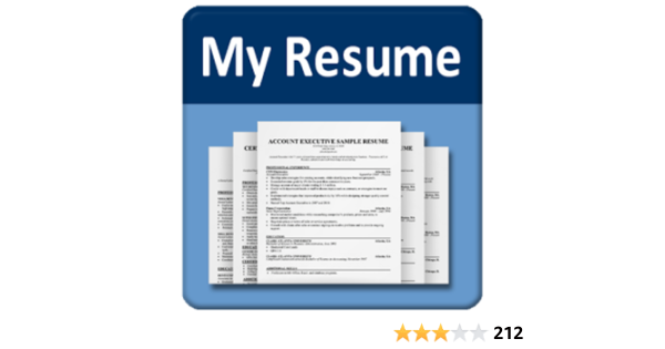 Amazon Com My Resume Builder Cv Free Jobs Appstore For Android