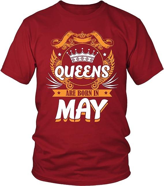 Amazon.com: belinto – Queens nacen en mayo – Hecho En Mayo ...