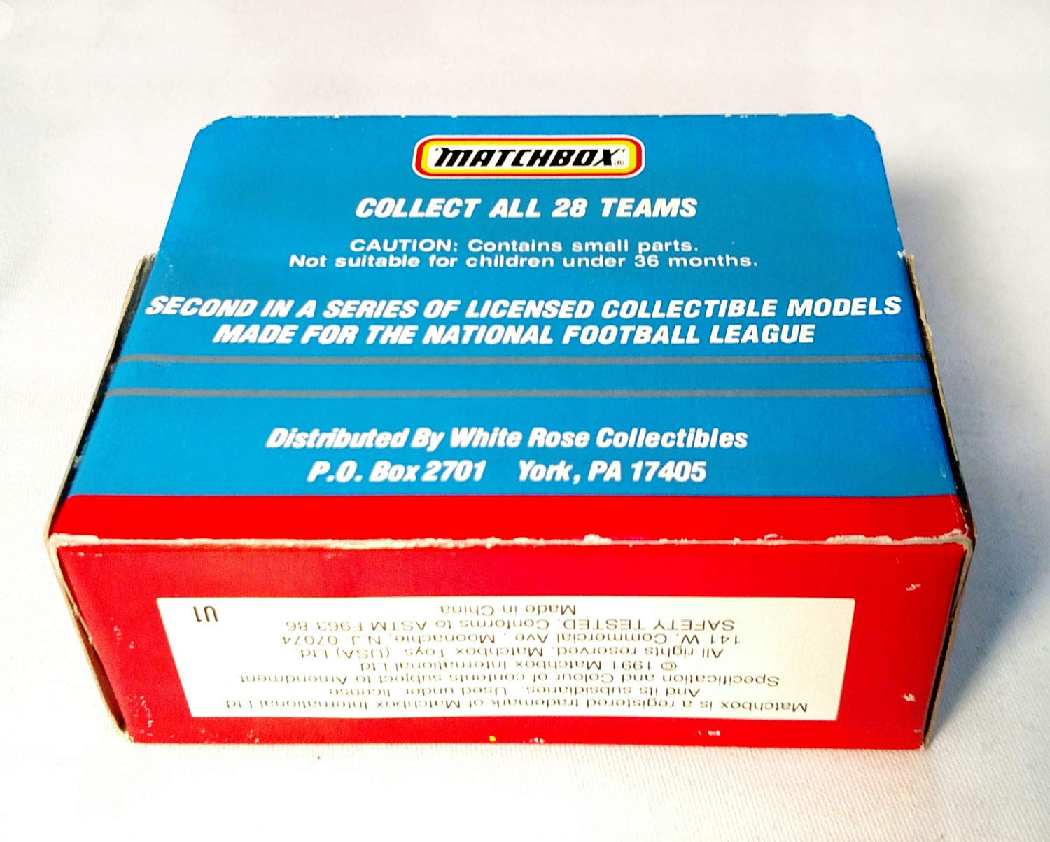 Atlanta Falcons 1991 Limited Edition Matchbox Die Cast Collectible