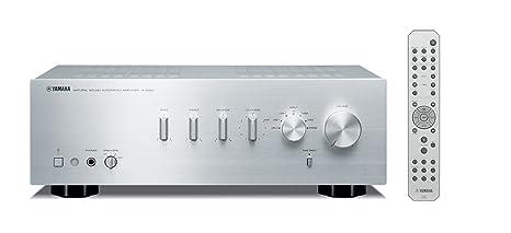 Yamaha AS-300 - Amplificador estéreo, plata