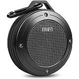 MIFA HiFi Lautsprecher Bluetooth Tragbare, IP56 Wasserfest und Staubdicht Outdoor Lautsprecher, Wireless Speaker eingebautem Mikrofon für iPhone, iPad, Samsung, Nexus, Huawei, Grau