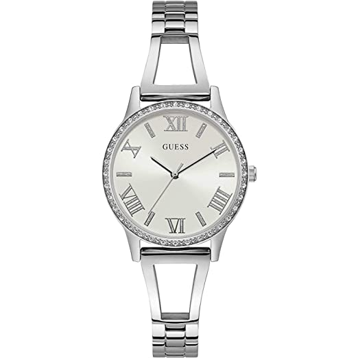 Amazon.com: Guess Lucy W1208L1 Reloj analógico de cuarzo ...