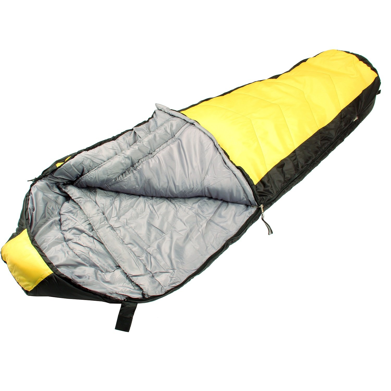 North Star 3.5 CoreTech Sleeping Bag - Yellow/Black [並行輸入品] B071S4VQSB