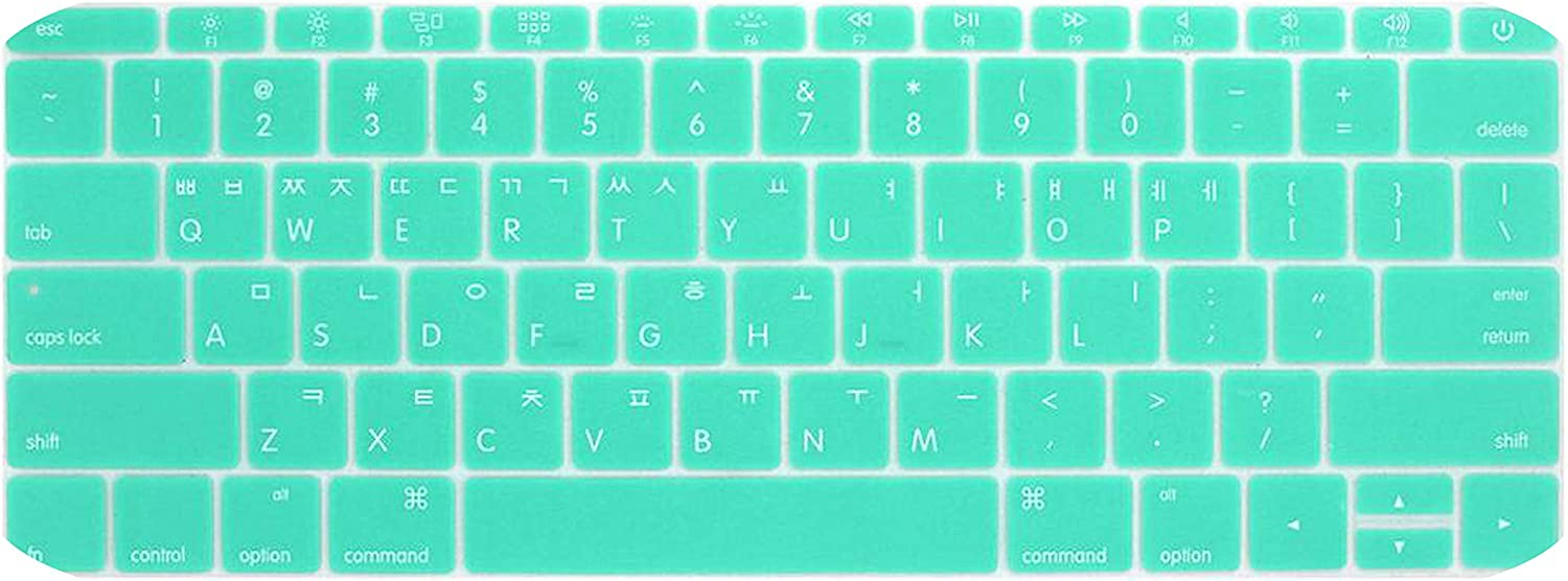 Korean Keyboard Cover for MacBook 13pro A1708 Retina 12 inch Laptop Keyboard Protective Film-Gold