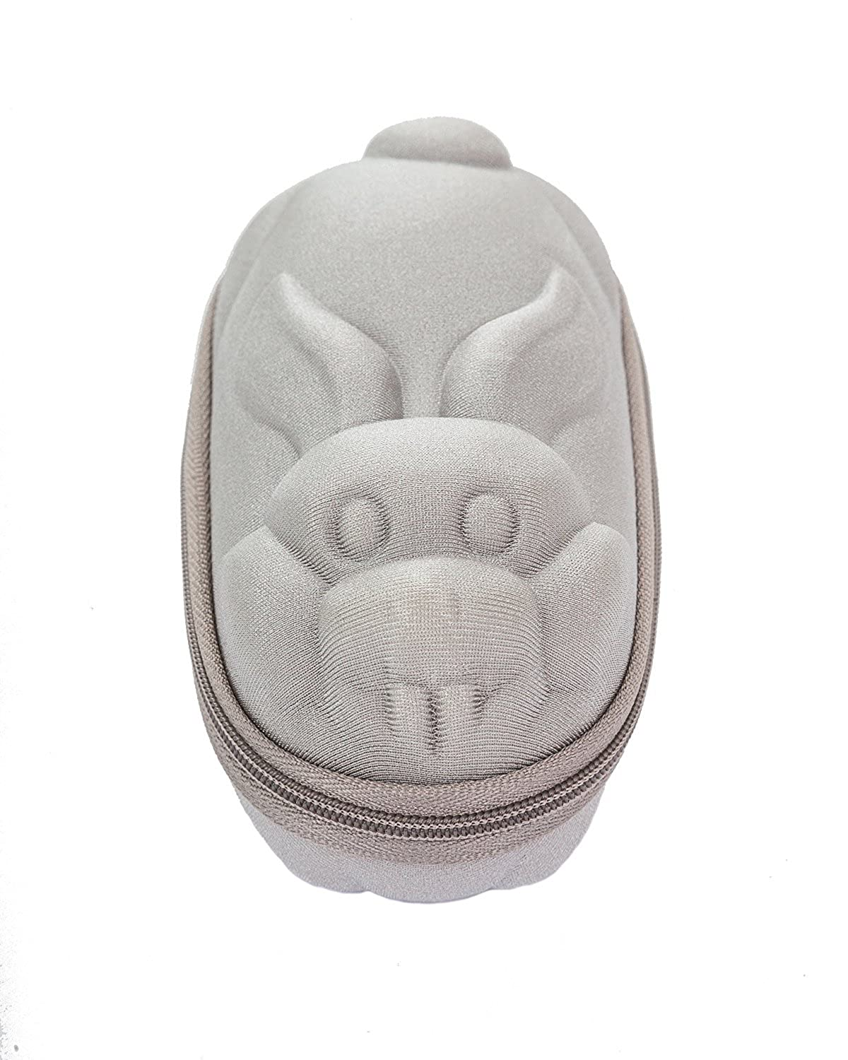 Baby Banz Sunglass Case Silver Rabbit
