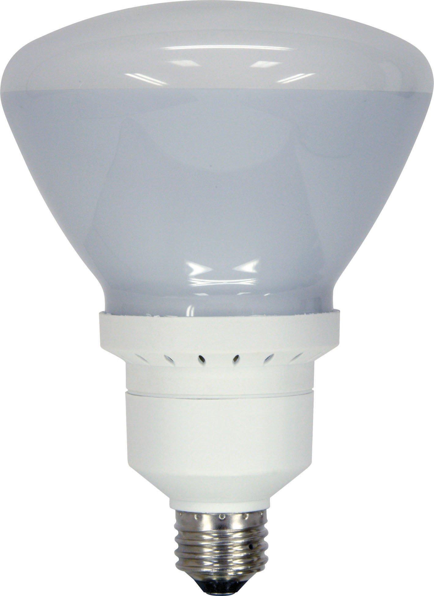 GE Lighting 80894 Energy Smart CFL 26-Watt (100-watt replacement) 1300-Lumen R40 Floodlight Bulb with Medium Base, 1-Pack
