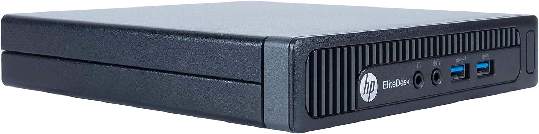 HP EliteDesk 800 G1 Desktop Mini Business PC Intel Quad-Core i5-4590s (3.0GHz) 8GB RAM 500GB HDD Windows 10 Pro 64-Bit WiFi (Renewed)