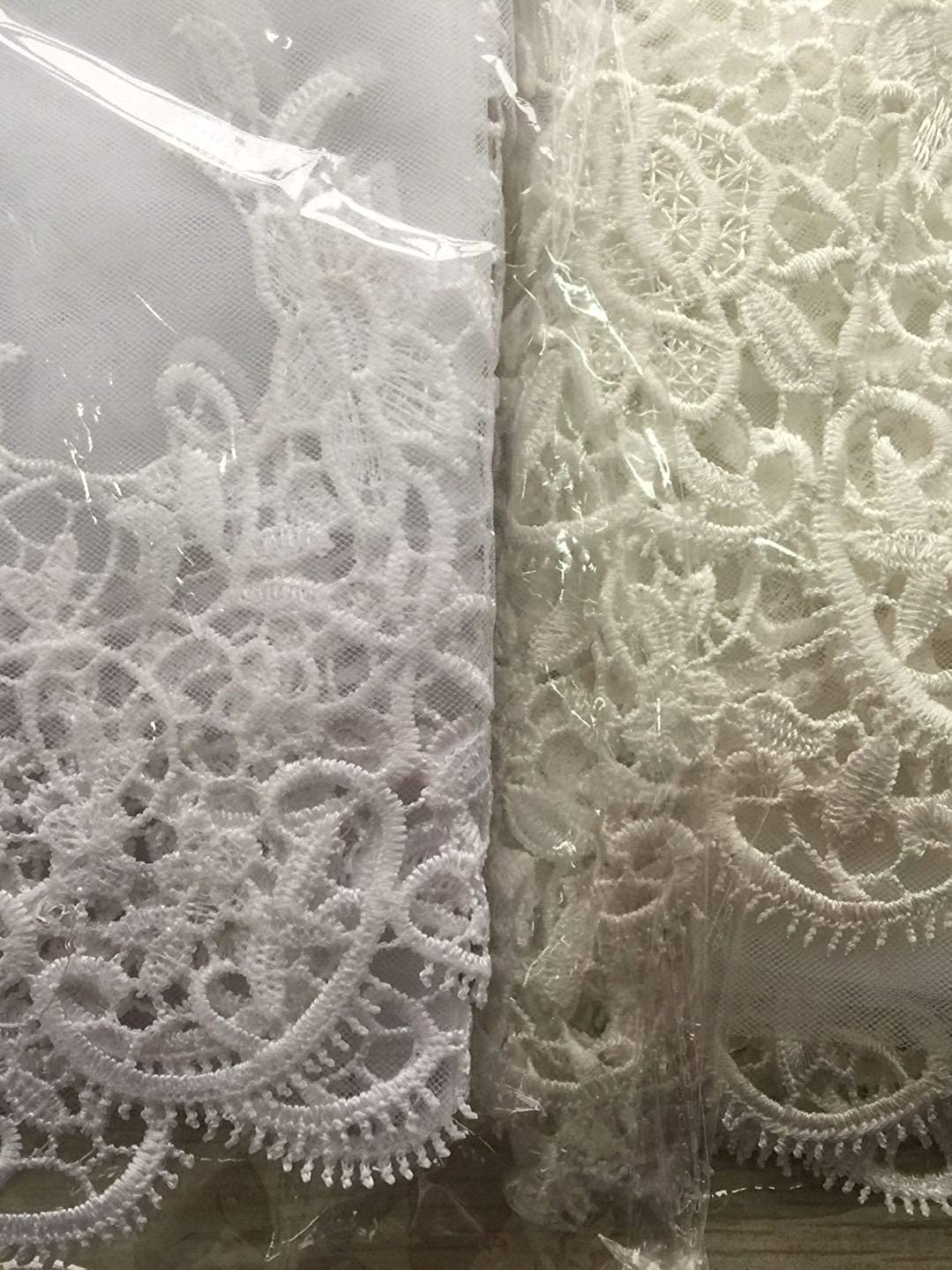 Babyonline White Ivory Tulle Sheer Wedding Bridal Veils Cathedral for Bride