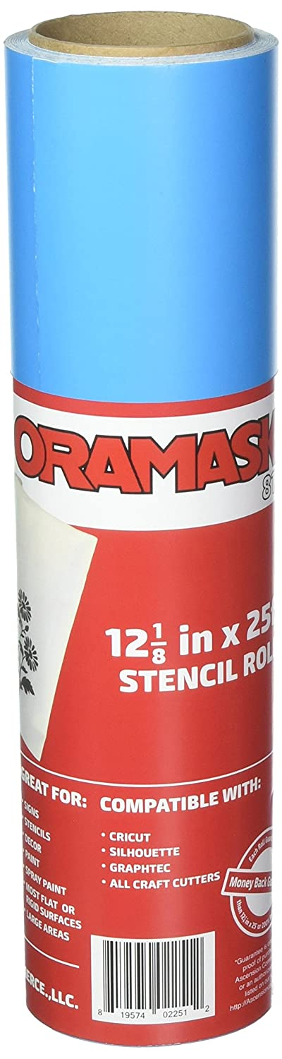 Oracal ORAMASK 813 Stencil Film 12.125 Inches x 25 Foot Roll for cricut, silhouette, cameo, craft cutters 4336976702