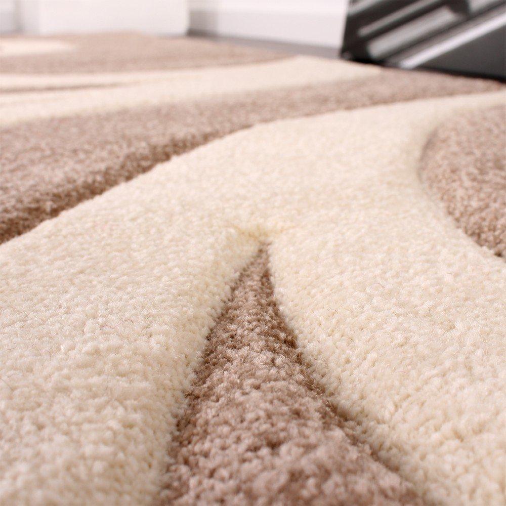 Paco Home Bettumrandung Läufer Teppich Teppich Teppich Modern Ranken Muster Beige Creme Läuferset 3 Tlg, Grösse 2mal 80x150 1mal 80x300 B00RN14UMI Teppiche d1d9fe