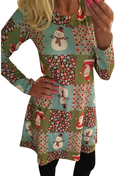 dd43813efd37b ワンピース レディース Kohore セクシー クリスマス ワンピース レディース 長袖 ドレス ワンピース Christmas One Piece  クリスマスワンピ ミニ