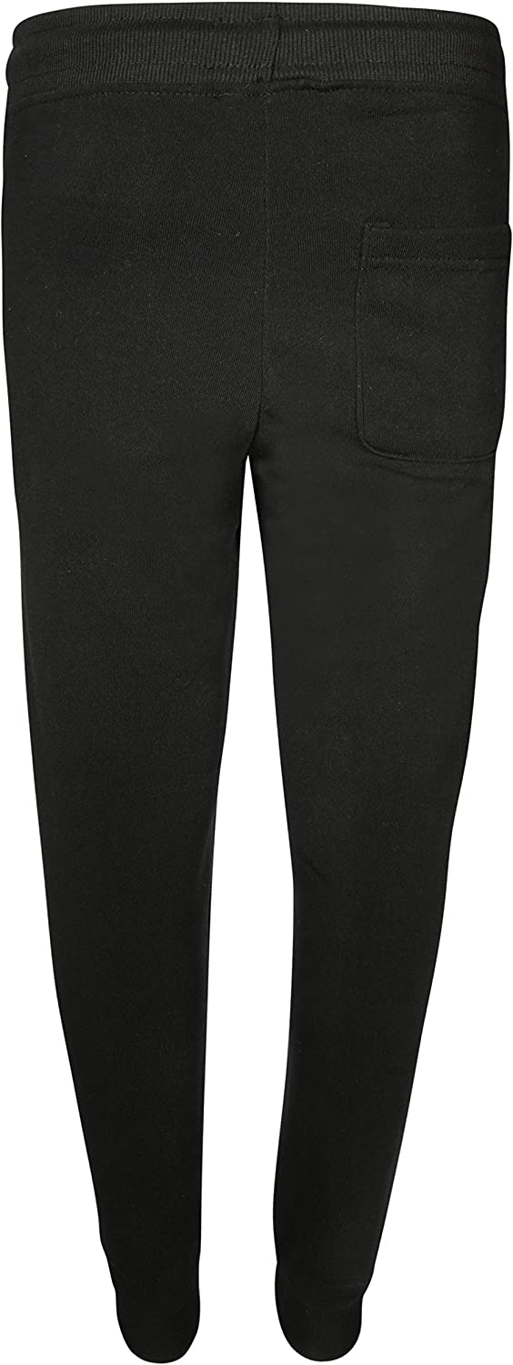 Galaxy by Harvic Boys Basic Fleece Active Jogger Pant with Zipper Pockets