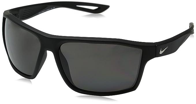 ac99baaff173 Nike Golf Legend P Sunglasses, Matte Black/Silver Frame, Polarized Grey Lens