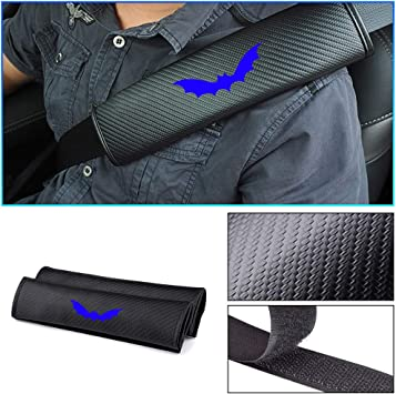 Corvette Seat Belt Cover Shoulder Pad Cushion 2 Pcs