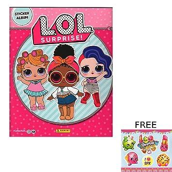 l o l surprise panini collectors sticker collection album
