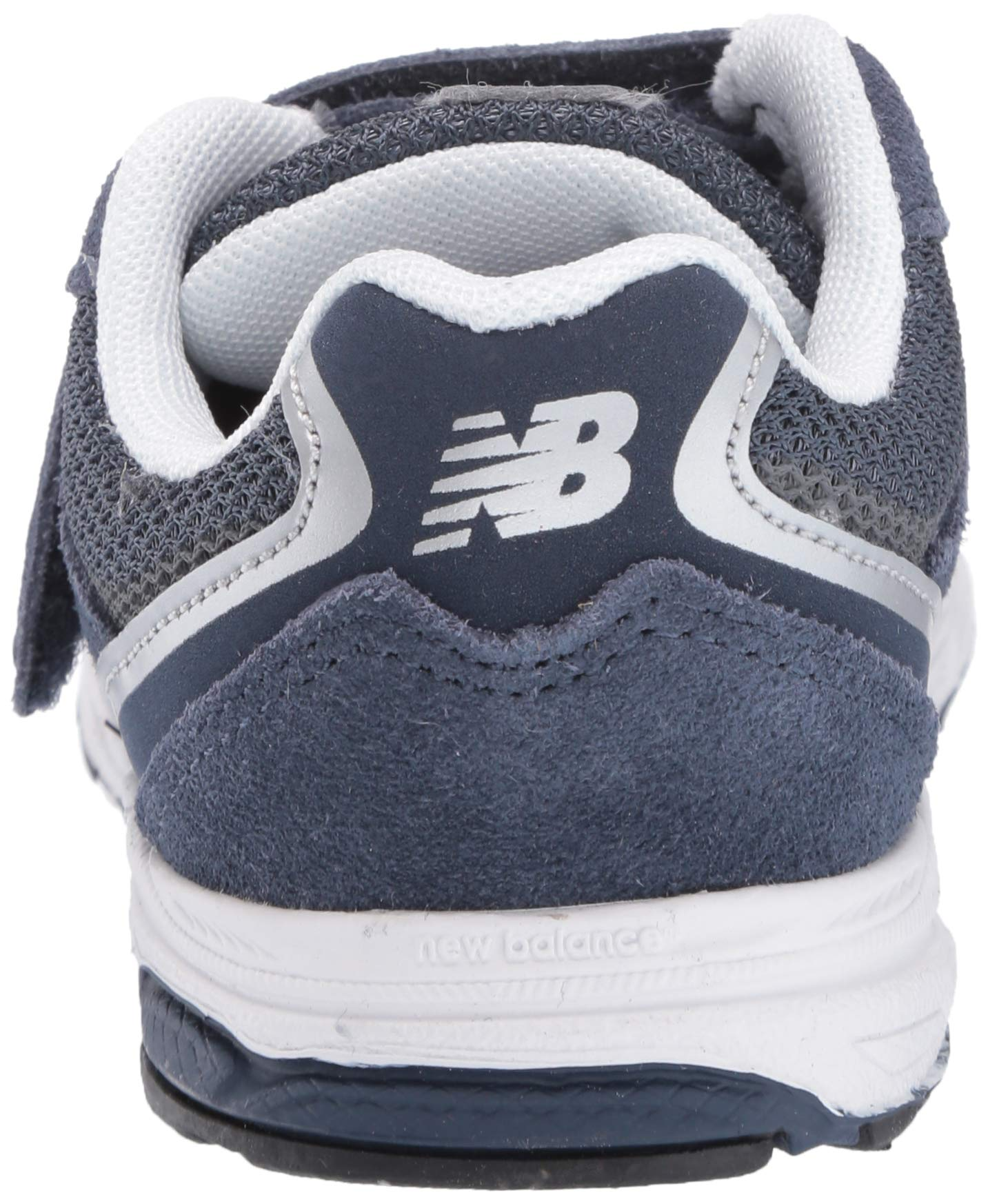 New Balance Boys' 888v2 Hook and Loop Running Shoe, Navy/Grey, 2 W US Infant by New Balance (Image #2)