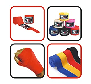 PROFESSIONAL CHOICE 3X Hand Wraps Pure Cotton Bandages Muay Thai Boxing Quick Hand Wraps MMA UFC 3X Professional Choice