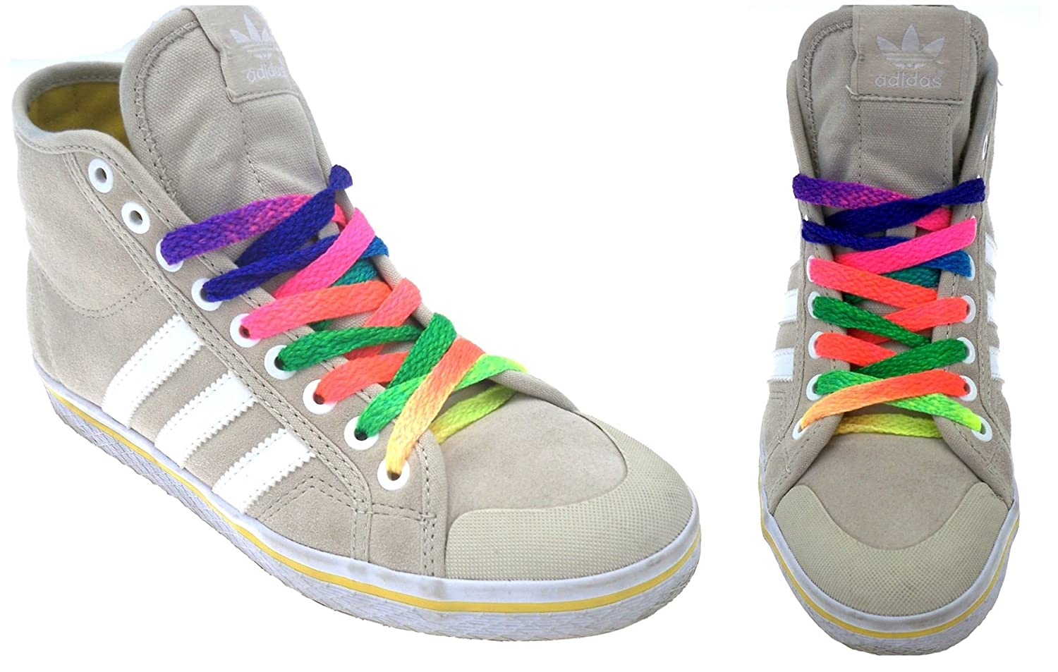 8mm FLAT STRONG SHOELACES SPORTS TRAINER /& BOOT SHOE LACES 9 COLOURS
