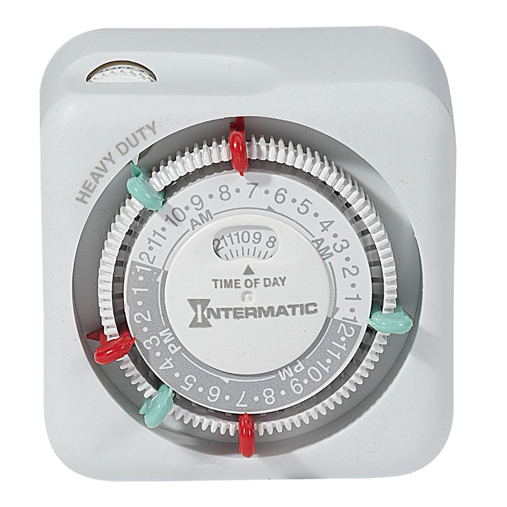 Intermatic TN311K 15-Amp Heavy Duty Lamp and Appliance Timer by Intermatic