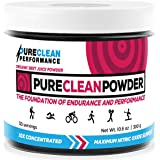 Beet Juice Powder Organic: PureClean Powder -100% USA Grown (Jar 300G) Nitric Oxide Booster -No Fillers, Sweeteners, Additives. Non-GMO Nitrate Beet Root Powder. Beets Energy Powder Supplement