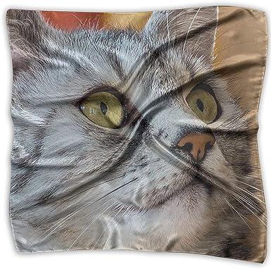 Pañuelos de seda con forma de pañuelo para pañuelos, cabeza de ...