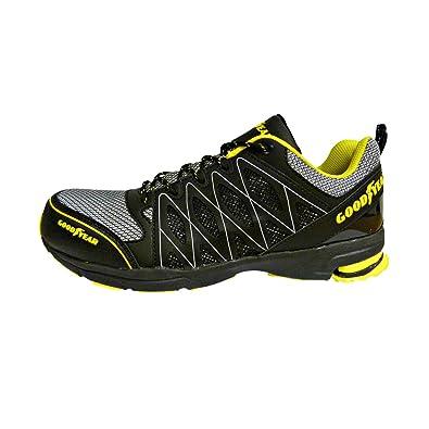 01b5210e Goodyear GYSHU1502, Zapatillas de Seguridad para Hombre, Negro (Black /Yellow),