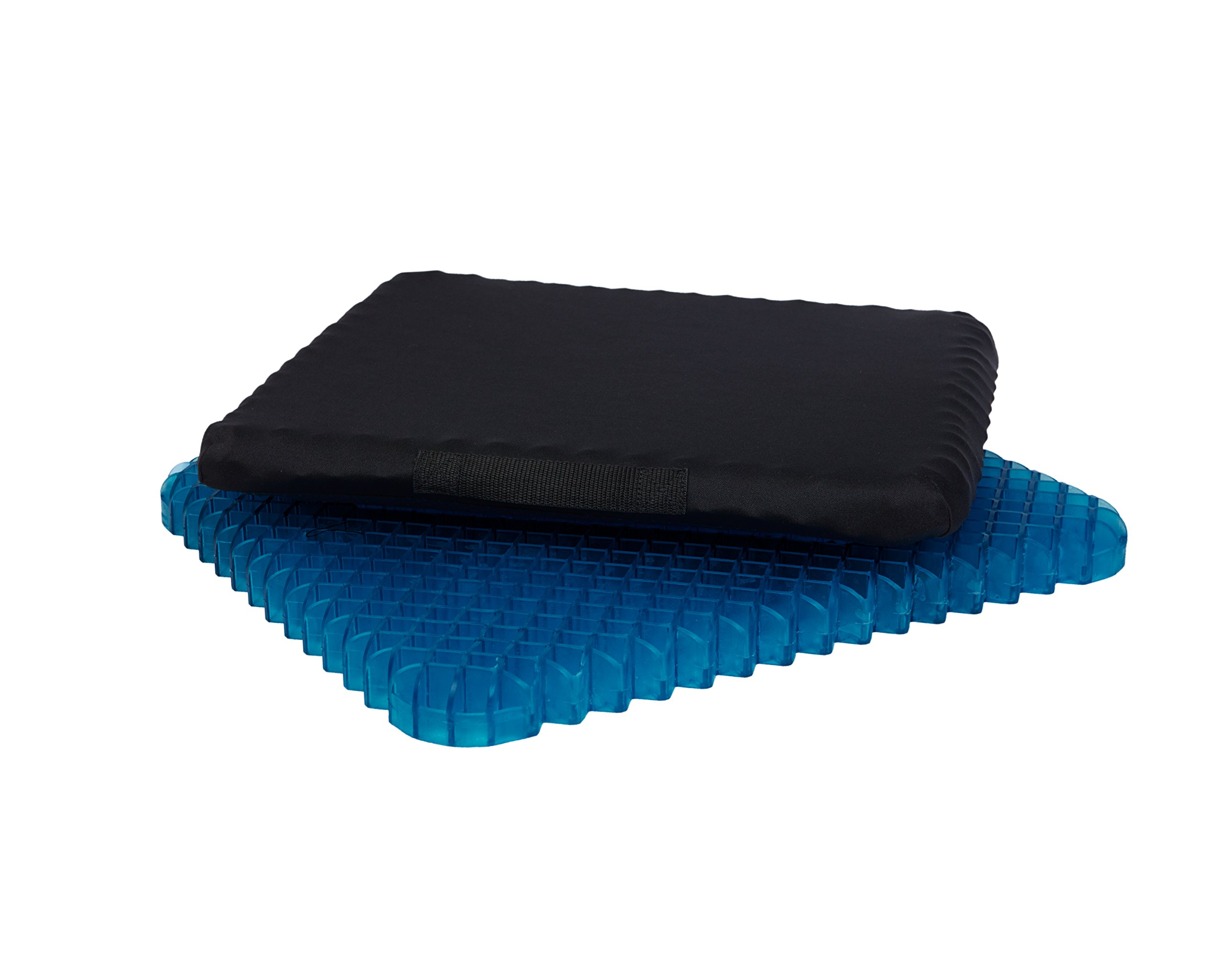 Miracle Cushion OPTIMA Orthopedic Non-liquid Gel Seat Cushion - Gel Pad, Home, Office, Auto, Travel Cushion, for Bottom, Lower Back, Coccyx, Pain Relief, USA Made