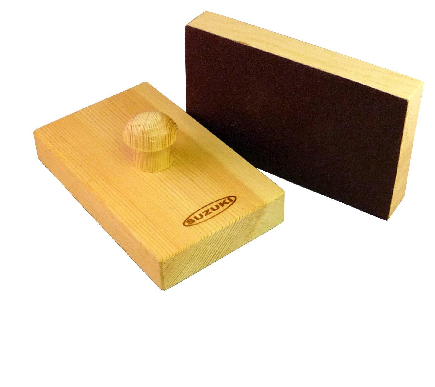Suzuki Musical Instrument Corporation SB-100 Sand Blocks - Pair