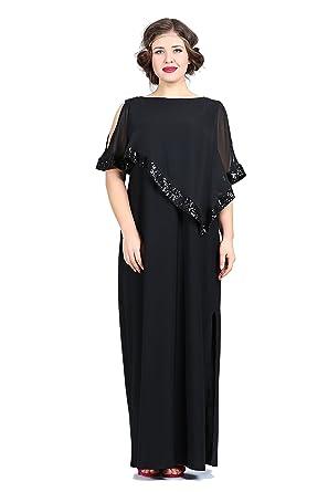 Designer Damen Chiffon Kleid Empire MAXI fallend Abendkleid Elegant ...