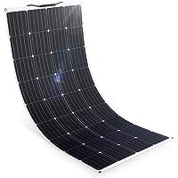 SARONIC 160W 12V Panel solar ETFE Mono flexible semi-flexible 18V 12V Módulo de cargador solar con cable de carga MC4…