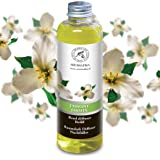 Jasmine Diffuser Refill, Natural Essential Jasmine Oil 6.8oz 200ml - Intensive - Fresh & Long Lasting Fragrance - Scented Reed Diffuser - 0% Alcohol - Best for Aromatherapy - Great Room Air Fresheners