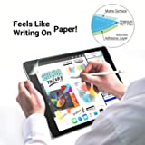 [2pack] Ipad pro12.9 Paperlike Screen Protector,(2015-2017:1st 2nd Generation,with Home Button)/Anti-Scratch/Anti-Glare/Compatible with Apple Pencil &Face ID ipad pro 12.9-inch PET Film [NOT Glass] (Color: clear, Tamaño: 12.9 inch)