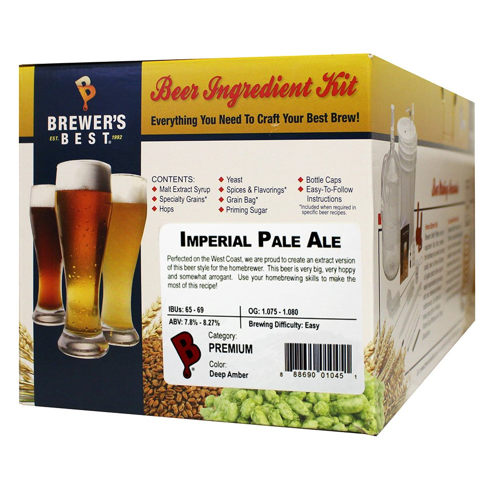 Home Brew Ohio Best Imperial Pale Ale Beer Ingredient Kit HOZQ8-1443