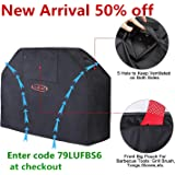 """G4Free BBQ Grill Cover 52""""-72"""" New Material PU Coating Oxford Anti-UV Gas Grill Cover Most for Brands Grill, More Lightweight and Stronger All Weather"""