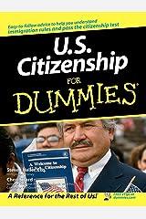 U.S. Citizenship For Dummies Paperback