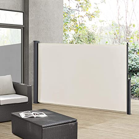 Amazon De Artlife Seitenmarkise Dubai 180 X 300 Cm Ausziehbar
