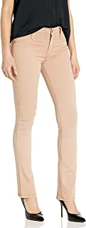 product image for James Jeans Women's Hunter High Rise Straight Leg Jean in Desert Khaki