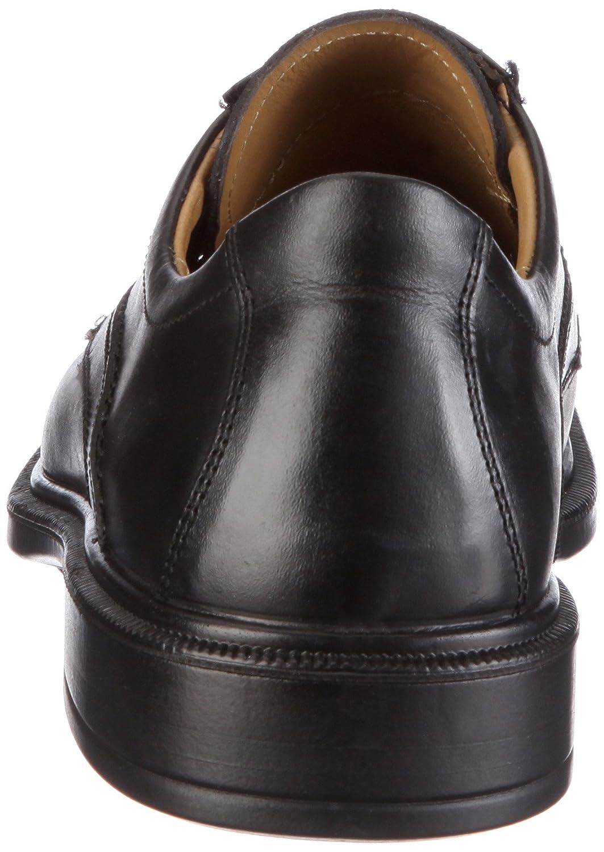 Jomos Strada 204202 23 - Zapatos de cordones de cuero para hombre, Negro, 47