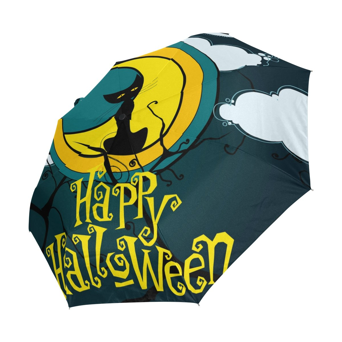 f1da509cc977 Amazon.com: DEYYA Moonlight Pumpkin Witch Halloween Spooky Custom ...