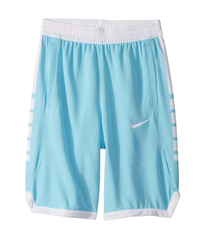 [NIKE(ナイキ)] キッズパンツ Dry Elite Basketball Shorts (Little Kids/Big Kids) [並行輸入品] B07SZTJWX7 Blue Gaze/White MD (10-12 Big Kids) (10-11歳) One Size