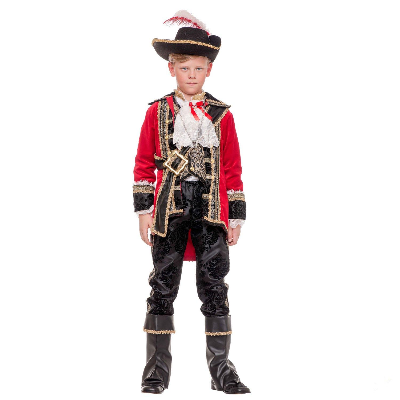 Unbekannt Traje de niño Pirata Capitán Hook Deluxe, con ...