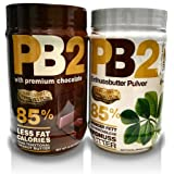 PB2 Powdered Peanut Butter and CPB2 with Premium Chocolate. 16 oz (Pack of 2) …