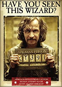 "Ata-Boy Harry Potter Have You Seen Sirius Black 2.5"" x 3.5"" Magnet for Refrigerators and Lockers"