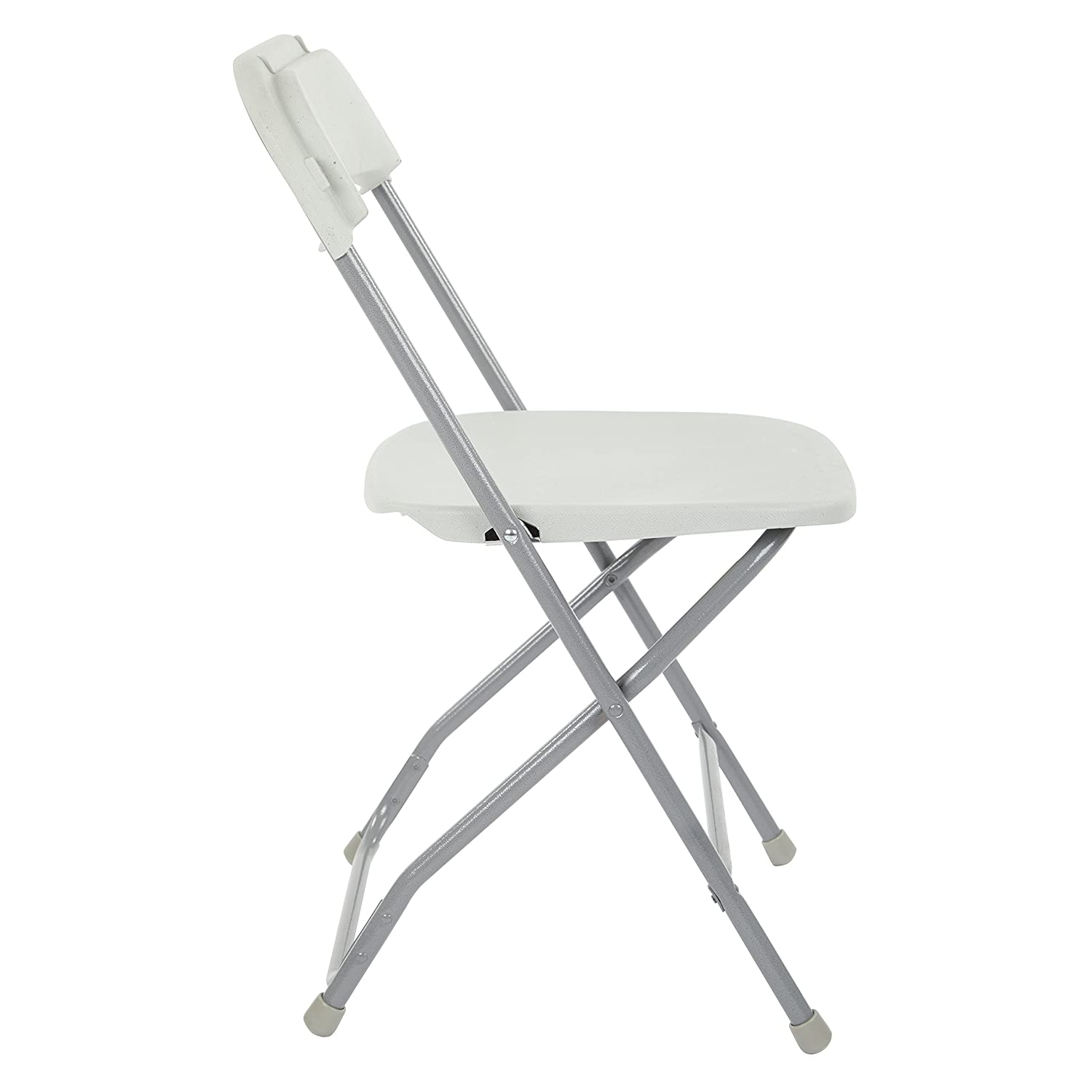 Amazon.com: Office Star - Silla plegable multiusos de resina ...