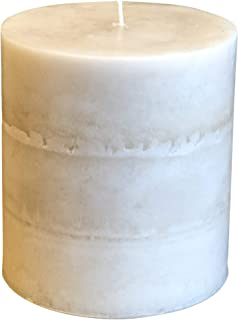 product image for Wicks n More Ivory Bliss Unscented Pillar Candles (4x4)