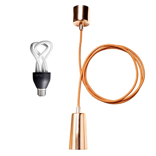 Plumen 9 W E27 bebé + cobre juego de lámpara de techo ...