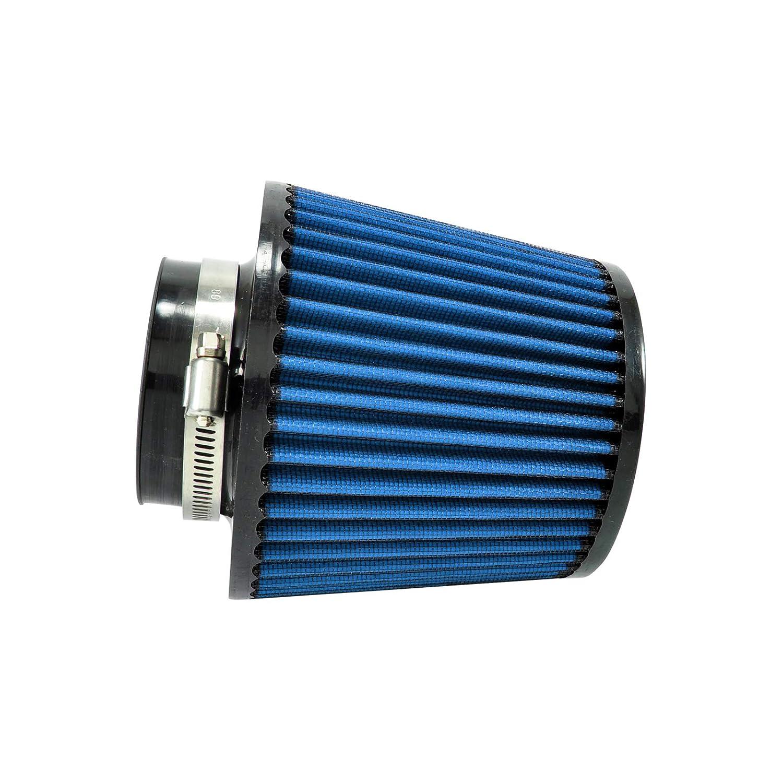 Universal Sportluftfilter 165mm//76mm Blau