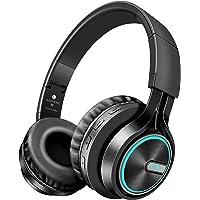CIC B6 fone de ouvido preto sem fio luminoso estéreo com Bluetooth